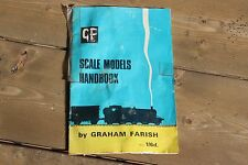 Vintage GRAHAM FARISH SCALE MODELS HANDBOOK 1964 GRAFAR 00 GAUGE