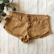 Urban Outfitters BDG Womens Size 27 W Camel Tan Brown Low Rise Dolphin Shorts