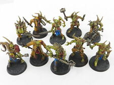 POXWALKERS x 10 Painted Death Guard Nurgle Chaos Marine Warhammer 40k Army Lot1A