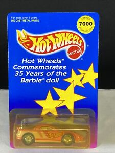 1994 Hot Wheels Commemorates 35 Years of the Barbie Doll Diecast Car x/7000
