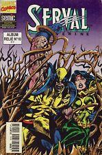 Album Serval/Wolverine N°10 - Marvel Comics - Eds. Semic - 1994