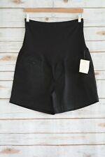 NWT Belly by Design PLANET MOTHERHOOD Black over the belly chino shorts, M