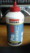 PRO 30D SOUDAL WATERPROOF WOOD GLUE ADHESIVE 750ML FAST DRY PVA HEAT RESISTANT