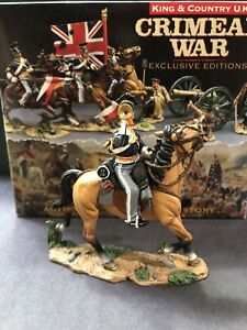 King & Country: Boxed Set CRW005 - Mounted 17th Lancer Bugler. Retired