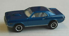 Matchbox 1970 Plymouth Cuda Barracuda blaumetallic Auto Muscle Car MBX Mattel 70