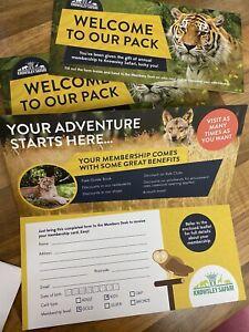 Knowsley Safari Park Membership Passes