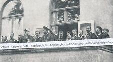 Bismarck + Vizekönig Li Hung-Chang auf Friedrichsruh - Druck um 1915 1920 R16-9