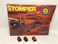 Vintage Schaper Stomper 882 DEVIL MOUNTAIN SET Toy 4X4s Tough Track * RARE *