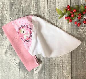 KU 48 49 50 51 52 53 Kinderkopftuch Kopftuch Mütze Mädchen handmade