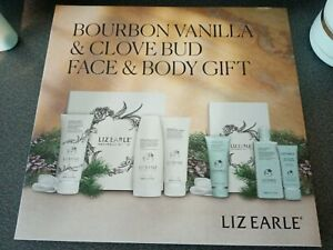 Liz Earle Bourbon Vanilla & Clove Bud 6 Piece Face and Body Gift Collection.