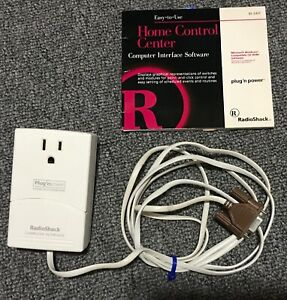 Radio Shack Plug'nPower Home Control  Center Computer Interface  61-2417