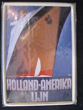 Metal Sign Holland-Amerika Lijn