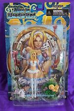 Grimm Fairy Tales Alice in Wonderland White Variant Action Figure NEW and SEALED