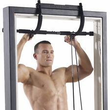 GYM FITNESS DOOR BAR CHIN UP PULL UP SITUP DIPS EXERCISE WORKOUT DOOR BARS