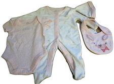 Primark 100% Cotton Girls' Babygrows & Playsuits (0-24 Months)