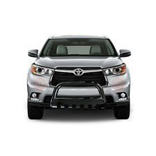Fits 2014-2016 Toyota Highlander Black Bull Bar Brush Bumper Guard