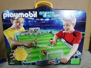 PLAYMOBIL ® 6857 CALCIO STADIO estadio Nuovo New Asta Sottocosto Football Soccer