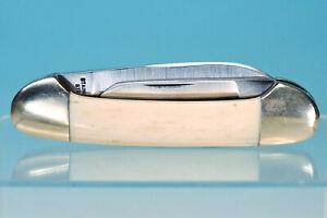 I-XL George Wostenholm Pocketknife Taschenmesser Bone Handle Canoe 2-blade