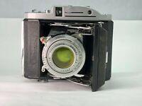 【As-is】Konishiroku Pearl ii w/ Hexar 75mm f4.5 from JAPAN