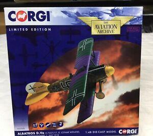 Corgi AA37808 1/48 Albatross D.Va Lt. Lothar Weiland, Jasta 5 PLEASE READ