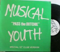 """MUSICAL YOUTH ~ Pass The Dutchie ~ 12"""" Single PS"""