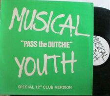 "MUSICAL YOUTH ~ Pass The Dutchie ~ 12"" Single PS"