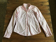 Used - Lady Shirt ABERCROMBIE & FITCH Camisa Mujer - Size L - Cuadros rosas