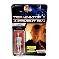 Funko ReAction Terminator 2 Judgement Day T1000 Final Battle Metal Form Figure