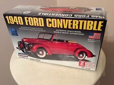 Lindberg 1/32 Model Kit 1940 Ford Convertible #72140 Sealed NEW Made in USA