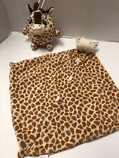 Angel Dear Infant Giraffe Lovey/Security Blanket & Fiesta Giraffe