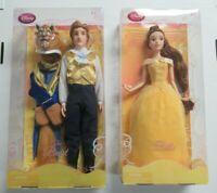 Disney Store Disney's Beauty & The Beast Belle & The Beast Dolls