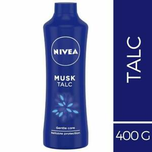 Nivea Musk Talc, For Gentle Care (Unisex) 400GM