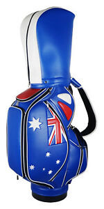 Custom Heritage Australian Flag Staff Tour Bag