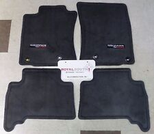 Toyota 4Runner 2017 TRD Off Road Black Carpet Floor Mats Genuine OEM OE
