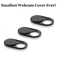 3 Packs Webcam Cover Magnetic Metal Slider, Smallest New Version Camera Cover