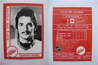 2015 SCA Claude Legris rare Detroit Red Wings goalie never issued produced #d/10