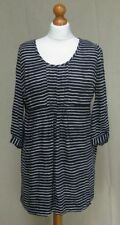 Joules Round Neck Casual Striped Dresses for Women