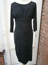 Vestiti da donna tuniche nere lunghezza al ginocchio