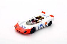 43TF69 Spark: 1/43 Porsche 908/02 Spyder #266 Winner Targa Florio 1969 G. Mitter