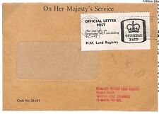 C212 1979 GB * Plymouth * Postal Stationery oficial {samwells-cubre} Pts
