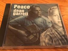 "MINT Dean Garrett ""Peace"" (CD, 2002)"