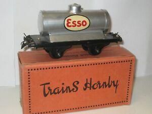 Wagon citerne ESSO HORNBY échelle 0