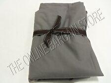 1 Pottery Barn Teen Classic Essentials flat Bed Bedroom Dorm sheets XL Twin Gray
