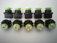 Mercury 10 Green 4 LED Dashboard Instrument Panel Indicator Light Bulb Socket