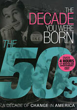 The Decade You Were Born: The 50s (DVD) A Decade of Change in America  NEW