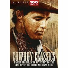 Cowboy Classics - 100 Movie Pack (DVD 24-Disc Set) NEW sealed