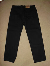 LEVI'S Men's 505 Black REGULAR STRAIGHT (38) 40 x 30 Made in USA Dark Jeans 501