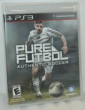 SEALED NEW PlayStation 3 Pure Futbol Authentic Soccer Video Game Online Play PS3