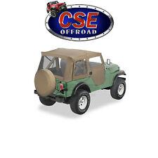 51597-04 Bestop Tan Supertop Soft Top Jeep CJ5 1976-1983