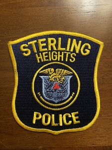 Sterling Heights Police Patch - Michigan